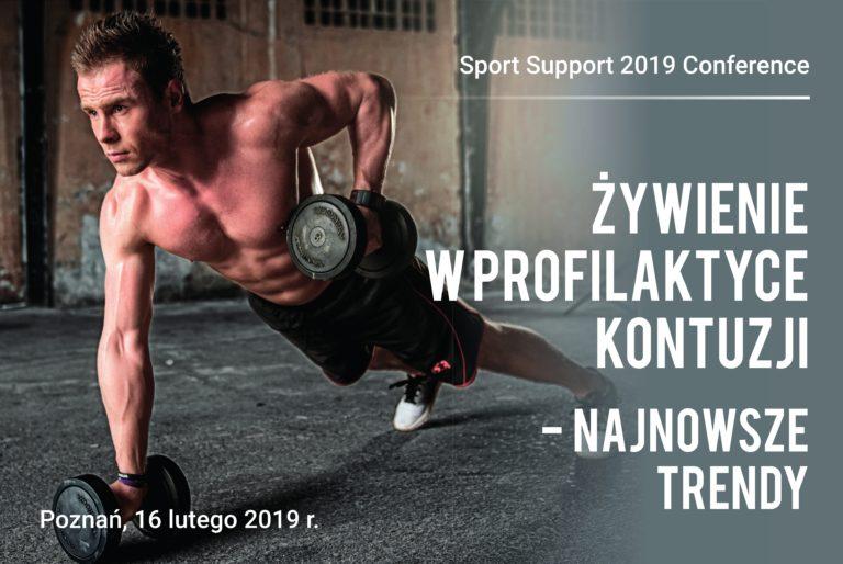 Najlepsza dieta dla sportowca czyli Sport Support 2019 Conference – będziemy tam! Bądź i Ty!