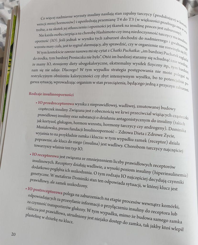 rodzaje insulinooporności