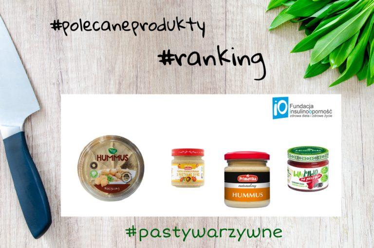 Pasty warzywne – produkty polecane insulinoopornym