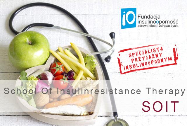 """SZKOLENIE SOIT 2019 – School Of Insulinresistance Therapy """"SPECJALISTA PRZYJAZNY INSULINOOPORNYM"""""""