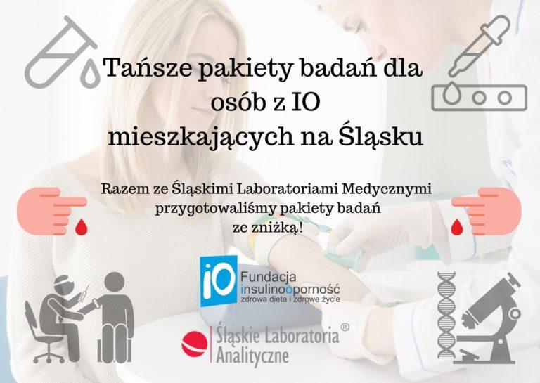Tańsze pakiety badań dla pacjentów z INSULINOOPORNOŚCIĄ