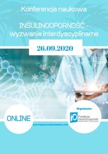 """Konferencja """"Insulinooporność – wyzwanie interdyscyplinarne"""" – ONLINE"""