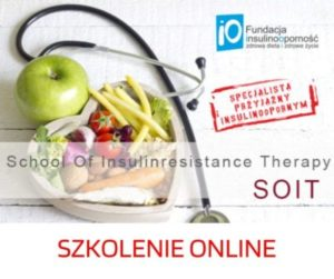 Szkolenie School of insulinresistance therapy – SOIT 16.04.201 ONLINE