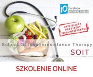 Szkolenie School of insulinresistance therapy – SOIT 3.12.2021 ONLINE
